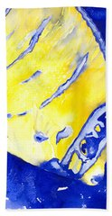 Juvenile Queen Angelfish Beach Towel