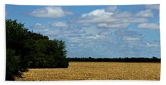Kansas Fields Beach Towel