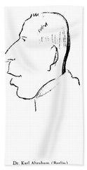Karl Abraham (1877-1925) Beach Towel