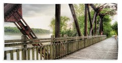Katy Trail Near Easley Beach Towel