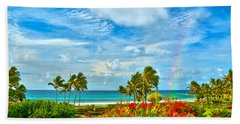 Kauai Bliss Beach Sheet by Marie Hicks