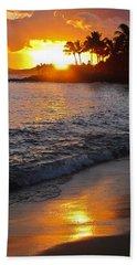 Kauai Sunset Beach Towel