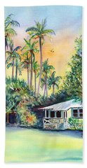Kauai West Side Cottage Beach Sheet by Marionette Taboniar