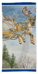 Kay And The Snow Queen Beach Towel
