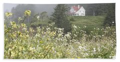 Keepers House Beach Towel by Laddie Halupa