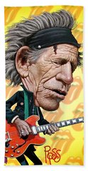 Keith Richards Beach Sheet