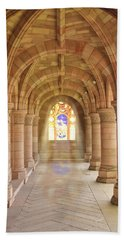 Kelso Abbey Stained Glass Beach Towel