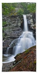 Kent Falls State Park Ct Waterfall Beach Towel