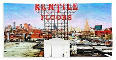 Kentile Floors Beach Towel