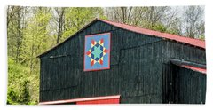 Kentucky Barn Quilt - 2 Beach Sheet
