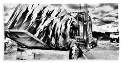 Kenworth Rig Beach Towel
