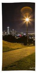 Kerry Park Seattle Beach Towel