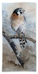 Kestrel Perch Beach Towel