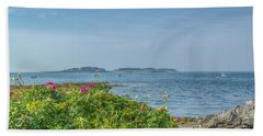 Beach Towel featuring the photograph Kettle Cove by Jane Luxton