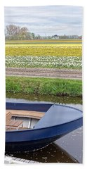 Keukenhof Bulb Field Beach Sheet