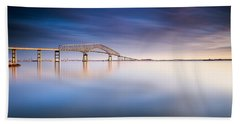 Key Bridge 2014 Beach Towel by Edward Kreis