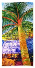 Key West Cat On A Hot Tin Roof Beach Towel
