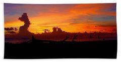Key West Sun Set Beach Towel