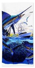 Keys Sail Beach Towel