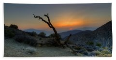 Keys View Sunset Beach Towel