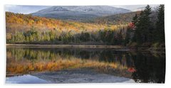 Kiah Pond - Sandwich New Hampshire Beach Towel