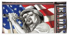 Kid Rock American Badass Beach Towel