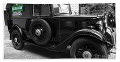 Kilbeggan Distillery's Old Car Beach Towel by RicardMN Photography