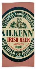 Kilkenny Irish Beer Beach Towel