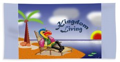 Kingdom Living Beach Sheet by Jerry Ruffin