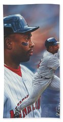 Kirby Puckett Minnesota Twins Beach Towel