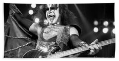 Kiss-gene-gp10 Beach Towel