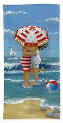 Kiss Me Quick Beach Towel