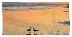 Kissing Birds 2 Beach Sheet