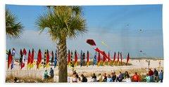 Kite Day At St. Pete Beach Beach Towel