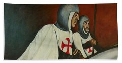 Knights Of Tomar Beach Sheet