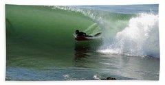 Know What Lies Beneath Beach Towel by Joe Schofield