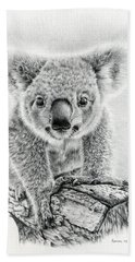 Koala Oxley Twinkles Beach Towel