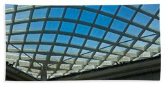 Kogod Courtyard Ceiling #3 Beach Sheet by Stuart Litoff