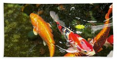 Koi Fish Japan Beach Sheet