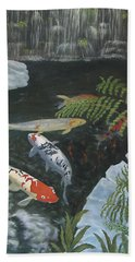 Koi Fish Beach Sheet