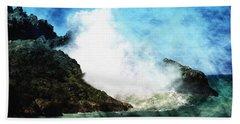 Kona Sea Beach Towel