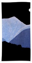 Kootenay Mountains Beach Towel by Janice Dunbar