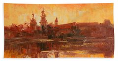Krakow - Wawel Impression Beach Towel