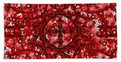 Kundalini Energy Beach Towel by Barbara Chichester