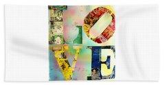 L O V E Beach Sheet by Jordan Blackstone