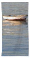 La Barque Au Crepuscule Beach Towel