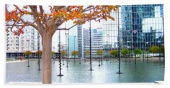 La Defense Beach Towel
