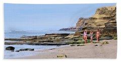 La Jolla Beach Walk Beach Sheet