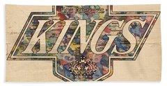 La Kings Vintage Art Beach Sheet