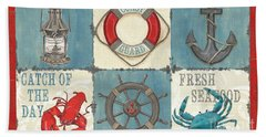 La Mer Collage Beach Towel